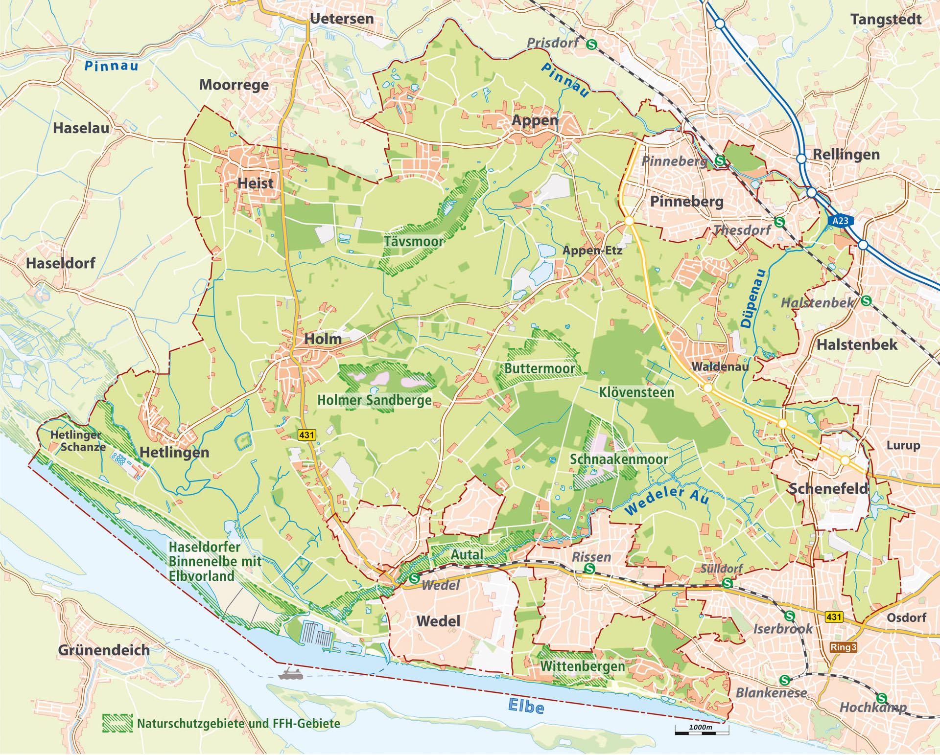 Abb.3_Karte Regionalpark Wedeler Au