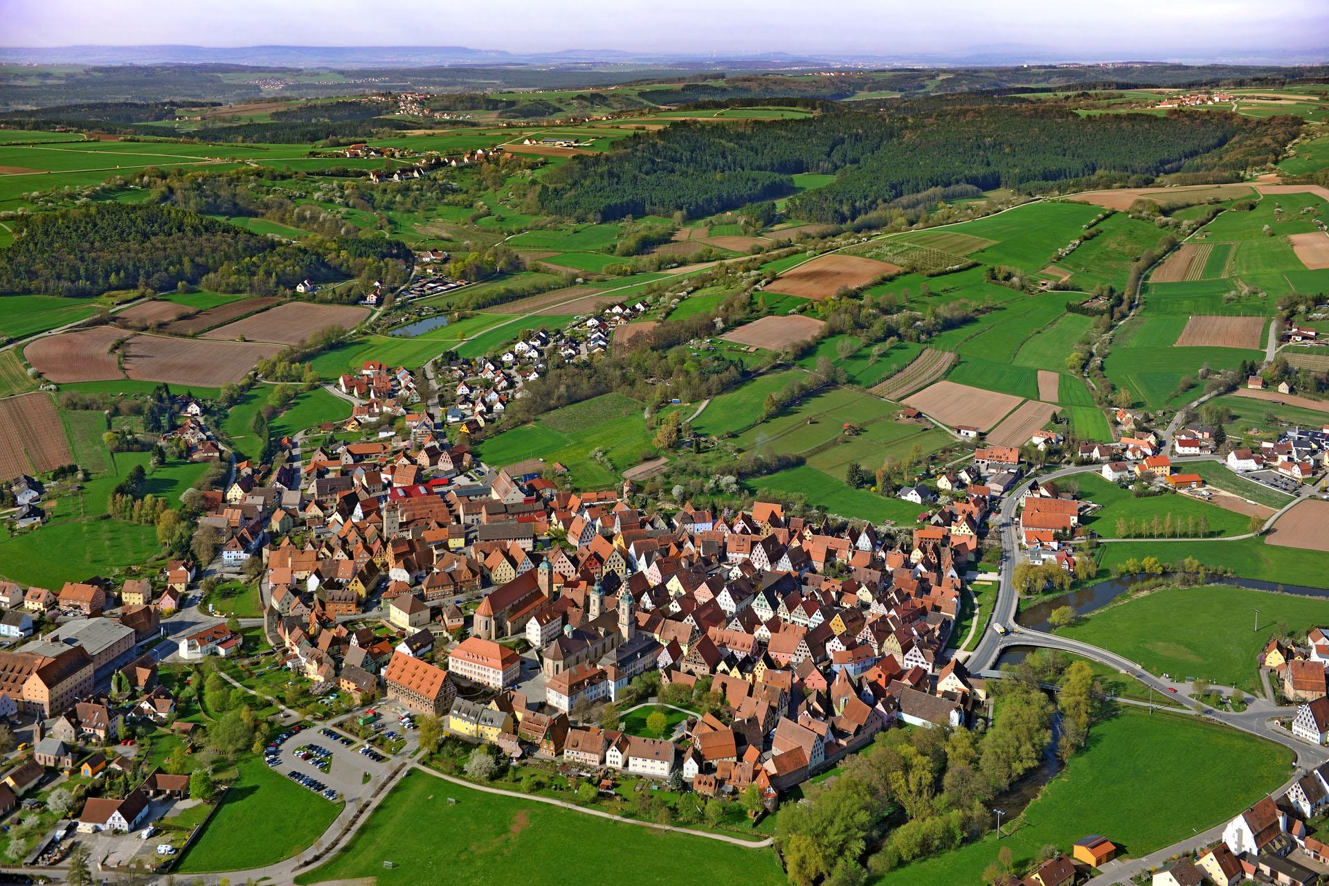 Schraegluftbild_mittelfraenkische-Kulturlandschaft